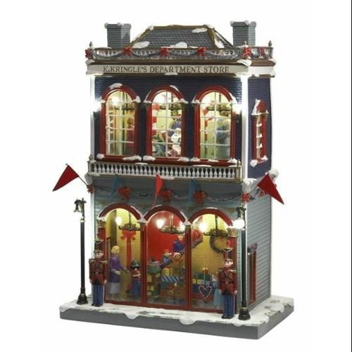 Store With Christmas Decorations: Mr. Christmas Musical Hyde Park Animated Village K