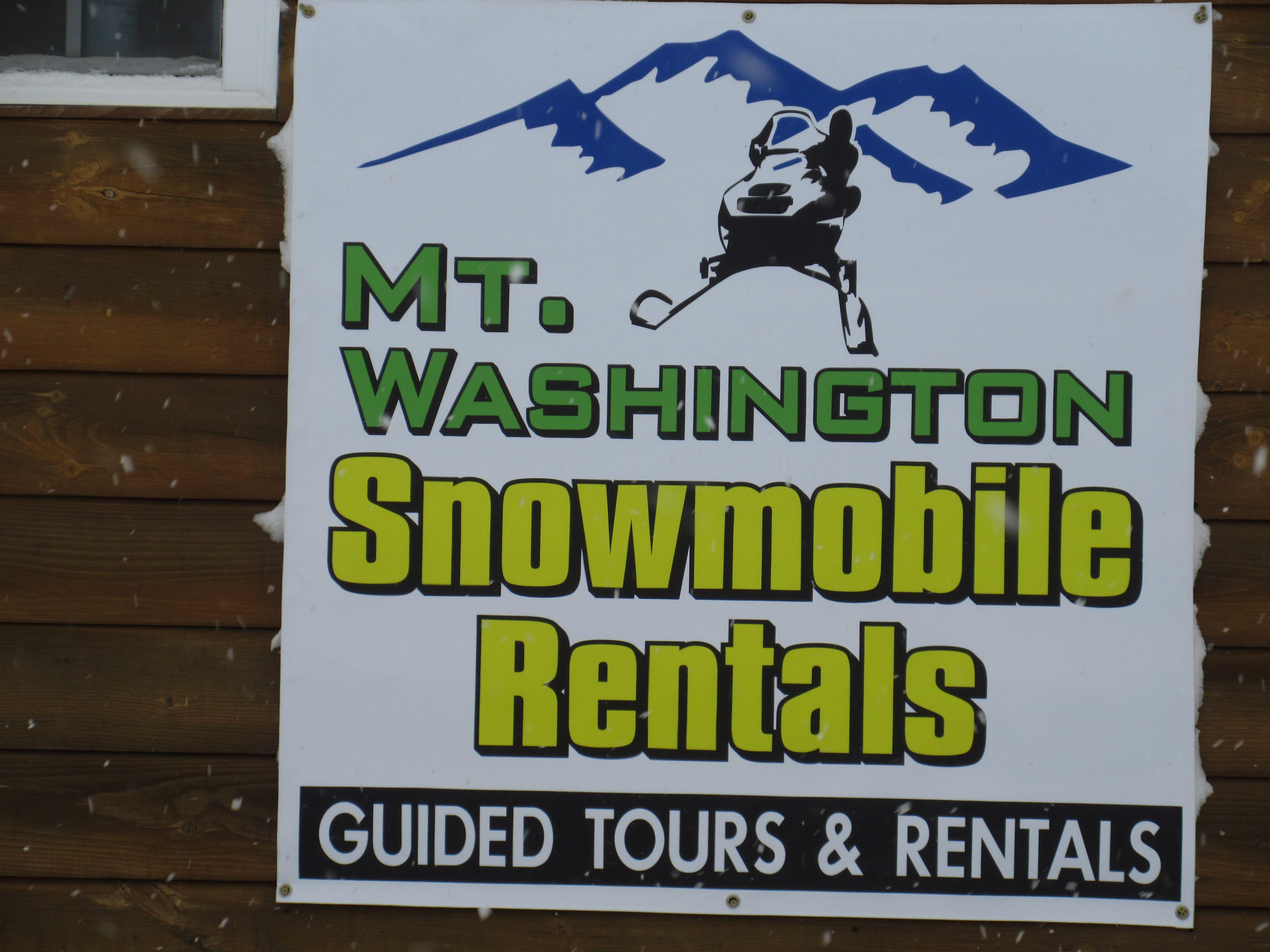 Mount Washington Snowmobile Rentals Bretton Woods Nh Snowmobile Snowmobile Tours Wildlife Tour
