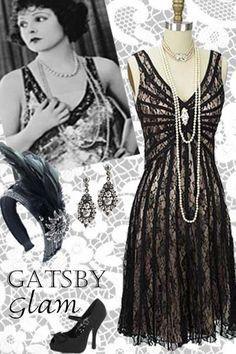 Photo of Mer inspirert Gatsby Glamour fra 1920-tallet på Blue Velvet Vintage – # 1920-tallet # Blå # buss …
