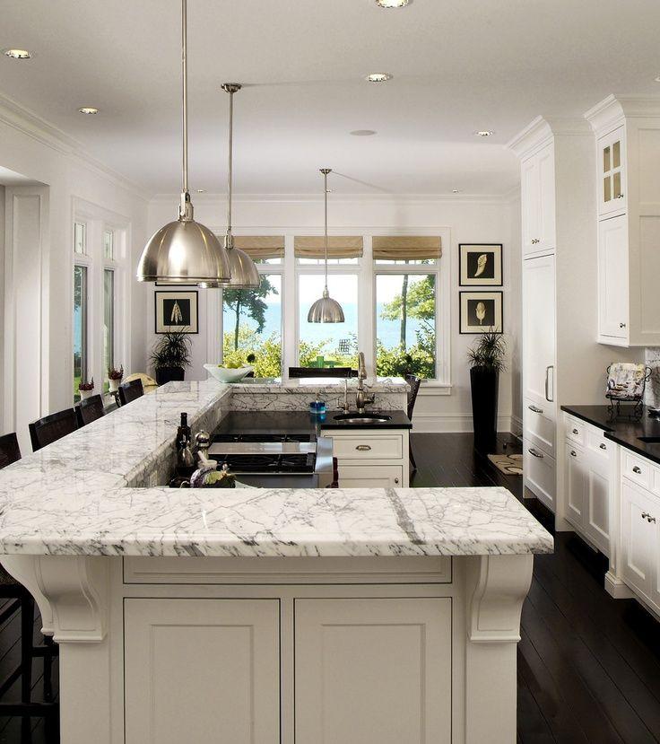 Split level kitchen remodel contemporary | Interior design ...