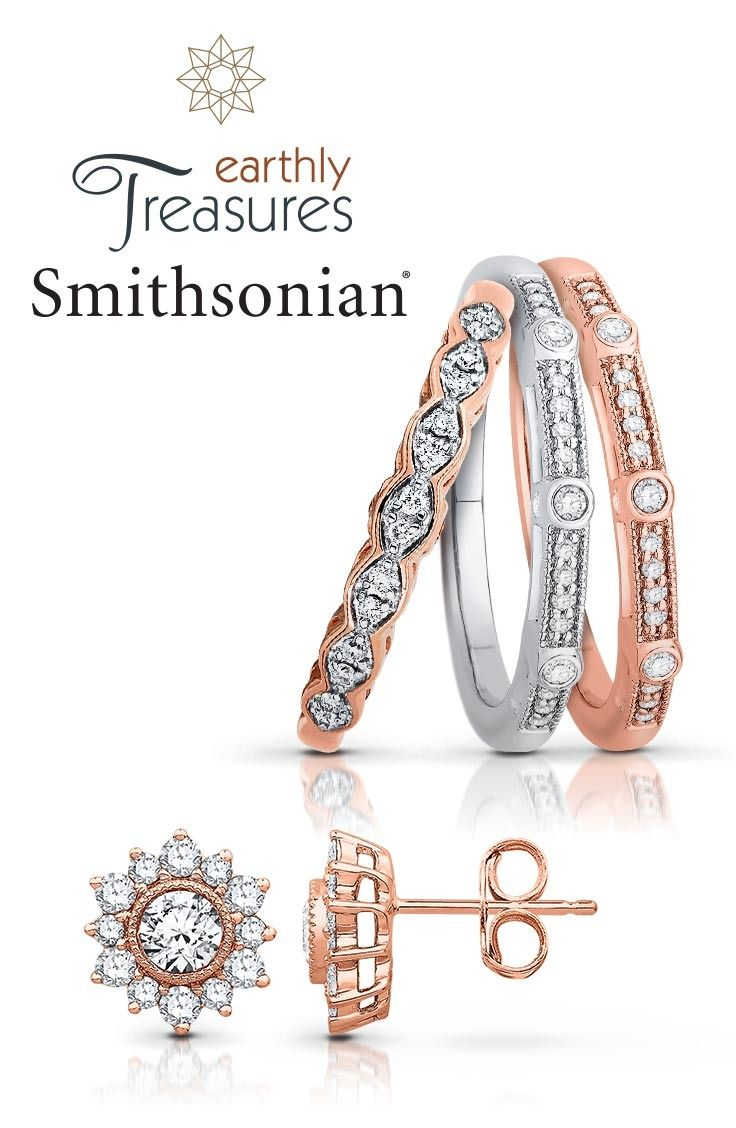Introducing Smithsonian Diamond An exclusive collection with