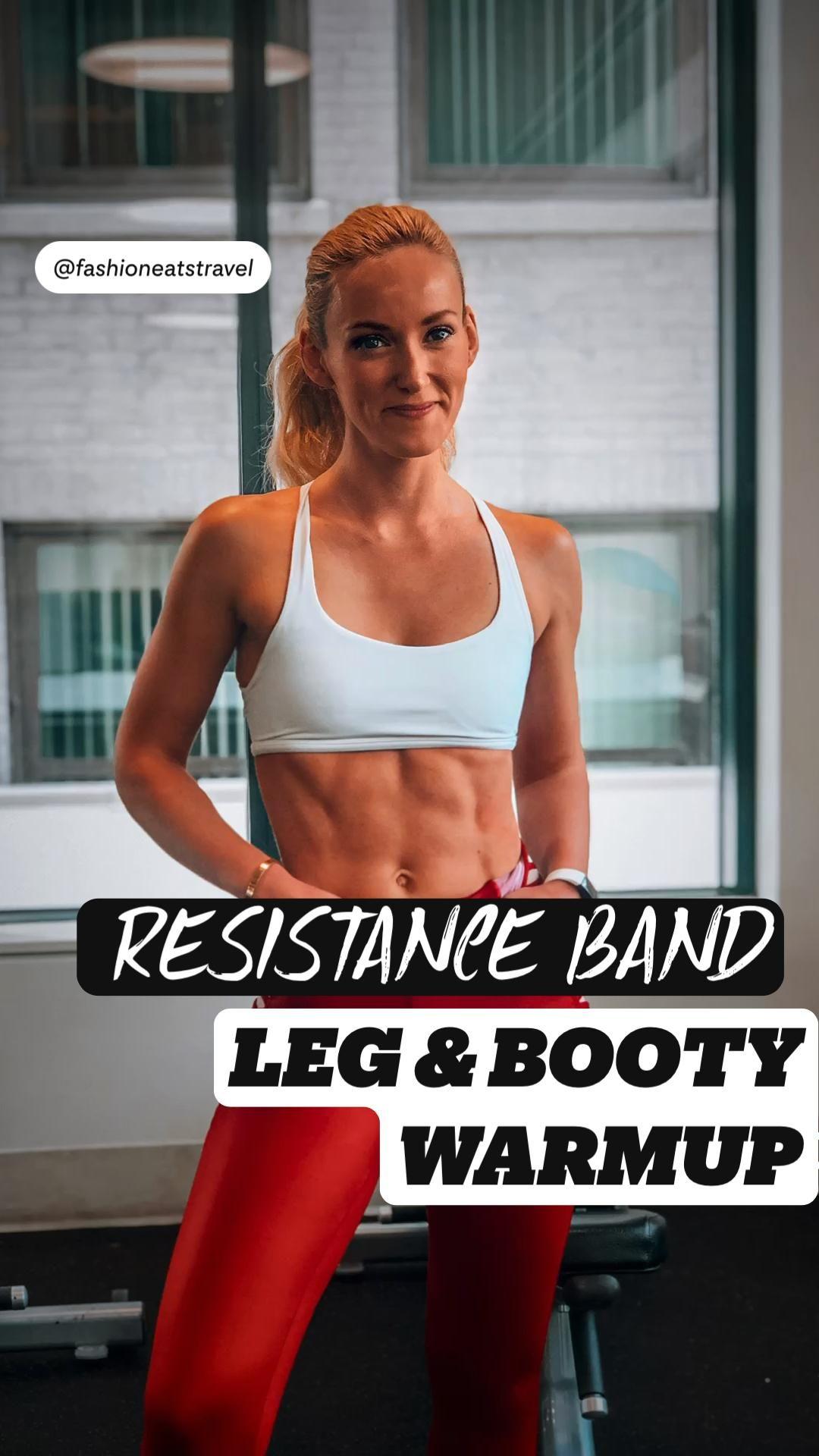 LEG & BOOTY WARMUP