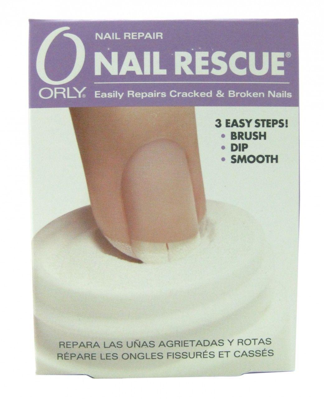 Orly Nail Rescue - Repair Cracked & Broken Nails, Free Shipping at ...