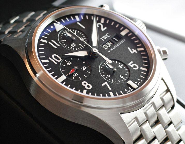 IWCパイロットクロノ IW371704 黒 -IWC時計コピー