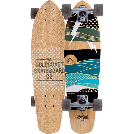 Goldcoast The Salvo Skateboard Bambo Com Salvo Skateboard Lightning Bolt Artwork Original Skateboards