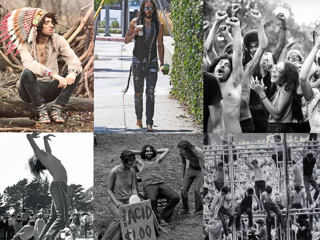 1970s hippies fashion lookbools youth culture and