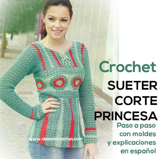 Todo crochet | Tejido - Crochet | Pinterest | Explicacion, Princesas ...