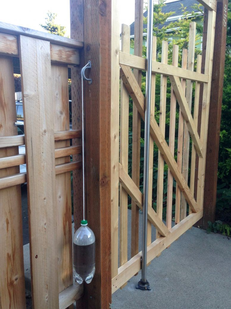 A Simple Self Closing Gate Ross Chapin Architects