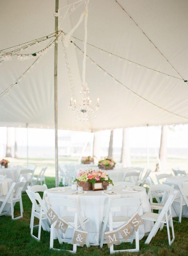 Mr. and Mrs. sweetheart chairs: http://www.stylemepretty.com/north-carolina-weddings/belhaven/2015/08/31/coastal-elegance-inspired-wedding-in-north-carolina/   Photography: Faith Teasley - http://faithteasley.com/