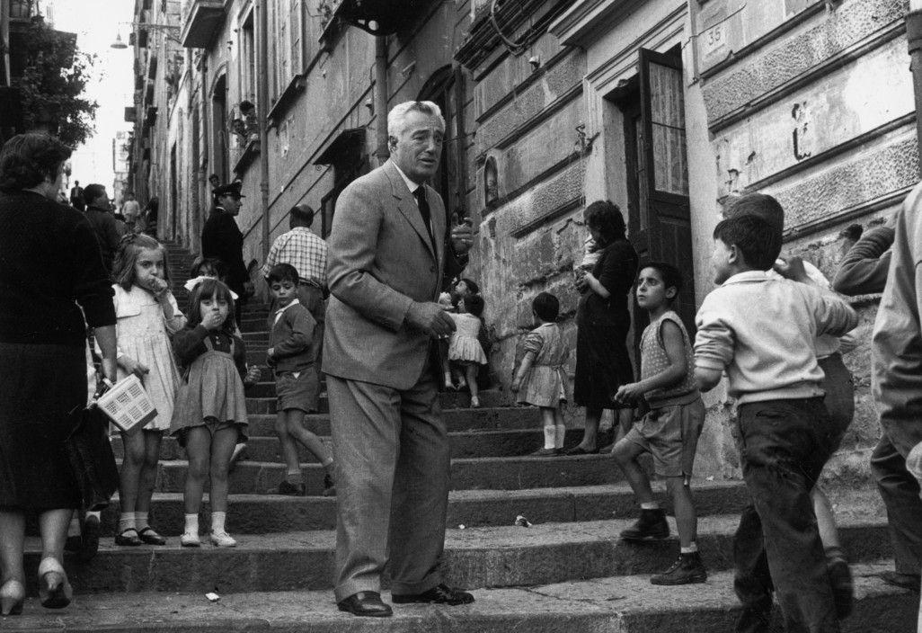 Magnum Photos - ITALY. Naples. Italian film director ...