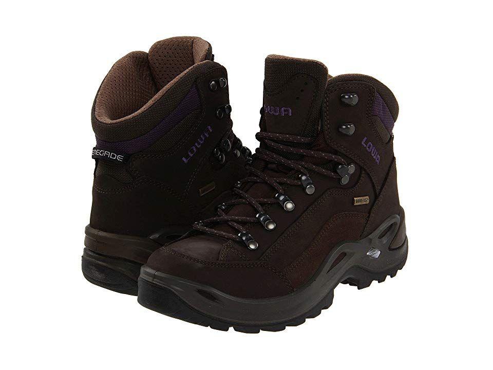 3e56c8ffdc0 Lowa Renegade GTX Mid WS Women's Hiking Boots Slate/Eggplant ...