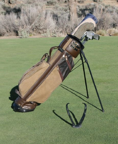 Waxed Canvas Stand Bag Jones Golf