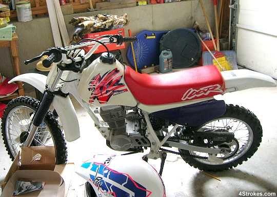 Honda Xr100 Wanna Ride It On My Street Honda Motorcycles Honda Bike