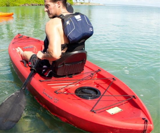 Lifetime Kayaks - 10-Foot 90236 Red Tamarack Sit on Top Kayaks