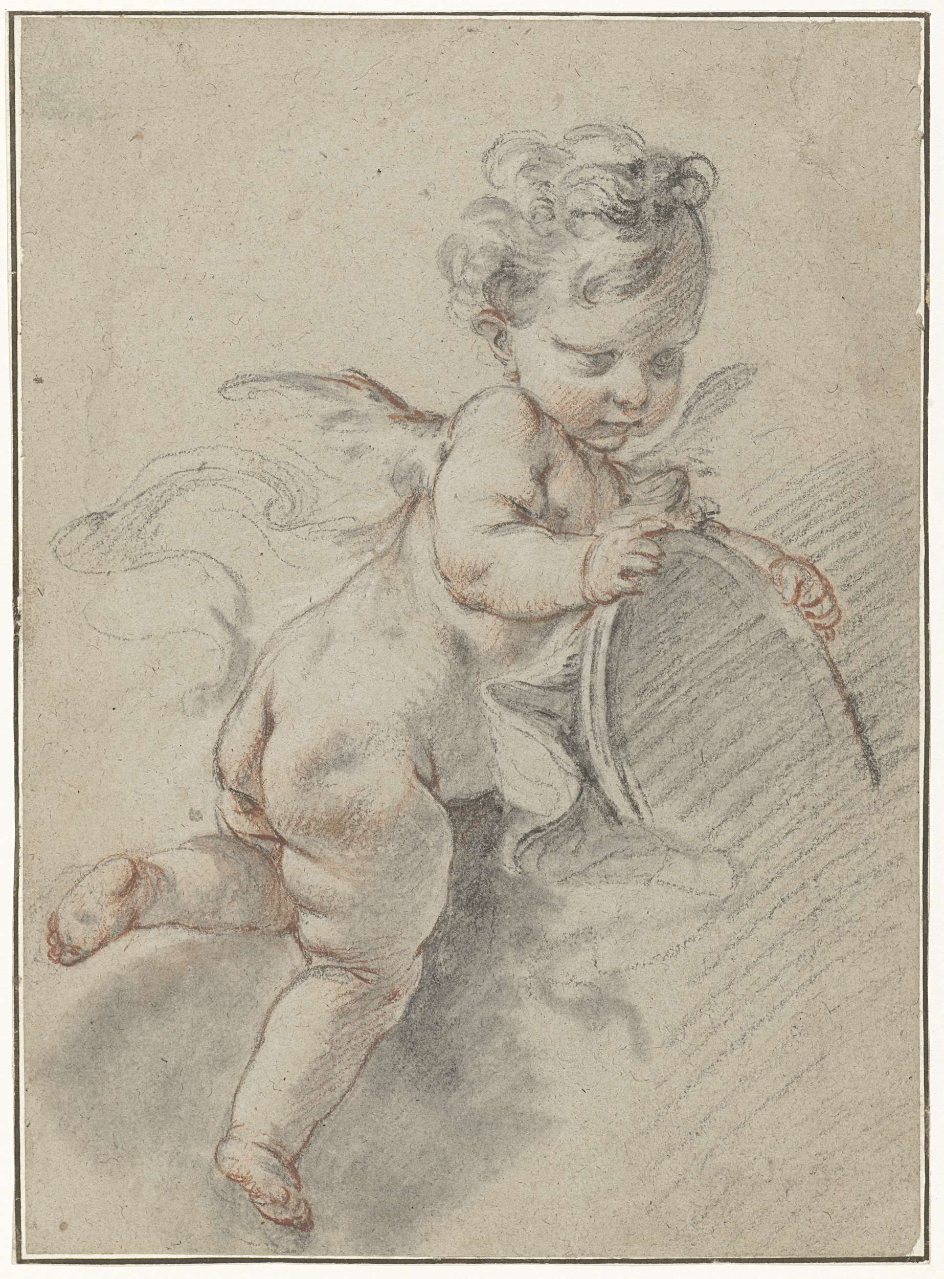 Altri Complementi D'arredo Complementi D'arredo Just Putto Angelo Beautiful And Charming