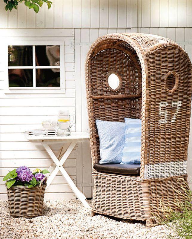 rattan dome chair