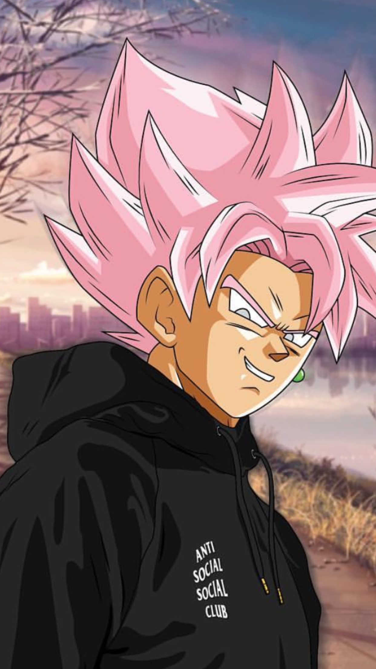 Super Saiyan Pink Goku Black Credits Madebyrvk On Instagram Anime Dragon Ball Super Dragon Ball Super Goku Goku Black