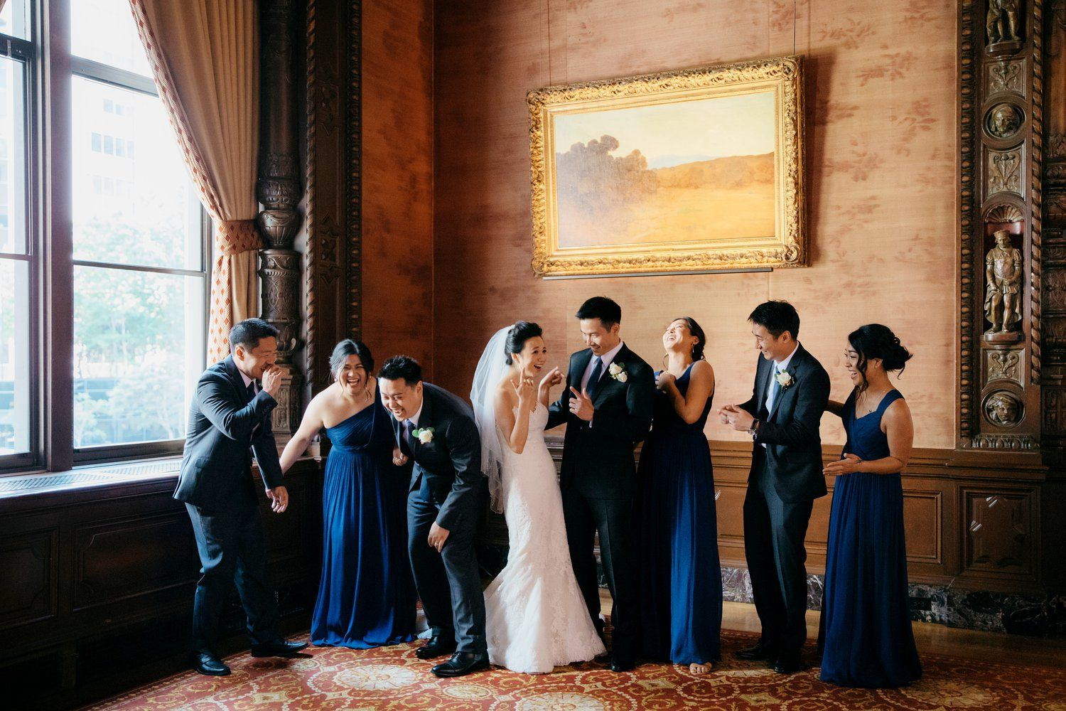 Rooftop Wedding at The Jonathan Club with Emily and