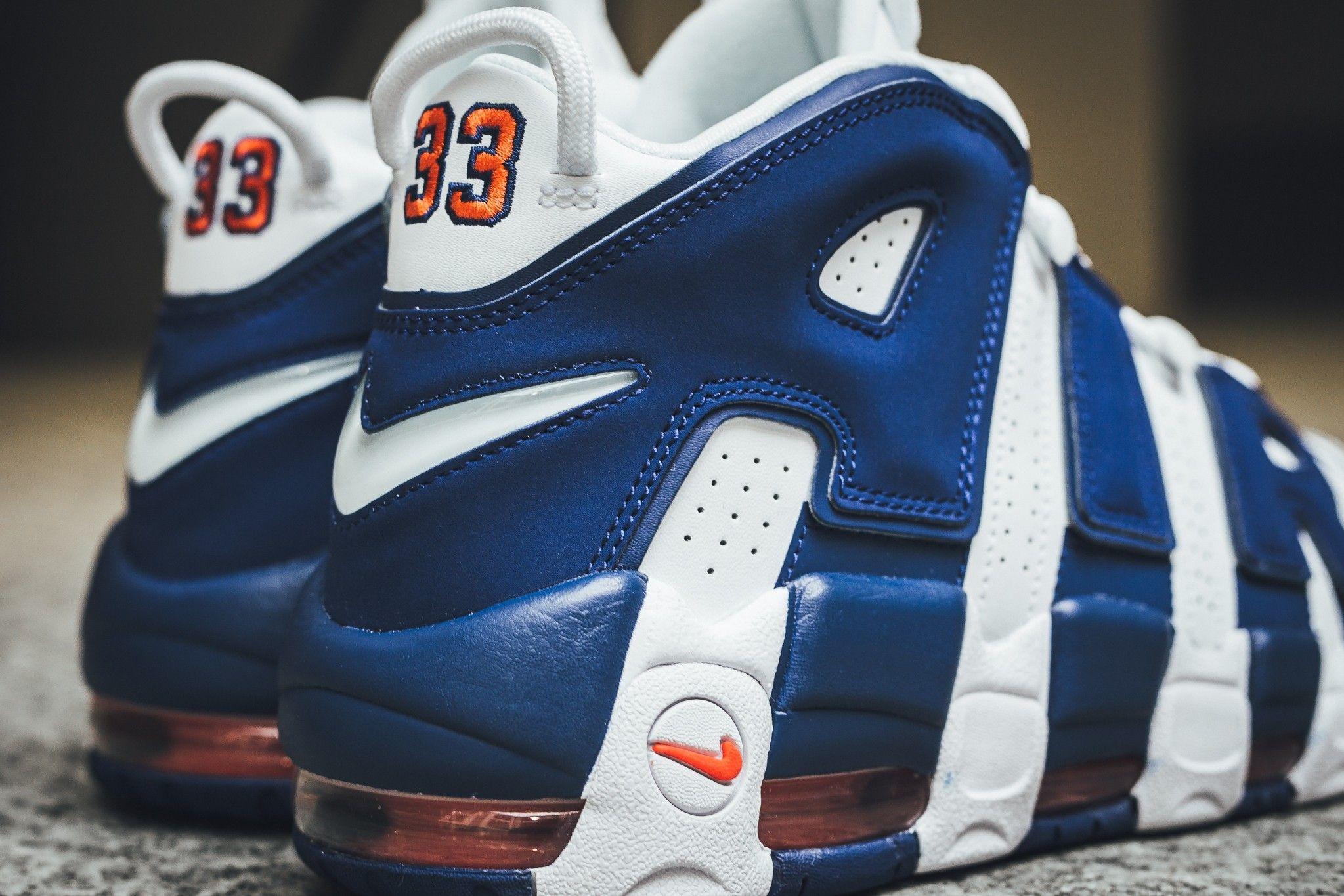 san francisco 23a42 e8ca3 Nike Air More Uptempo Knicks Dropping Next Weekend
