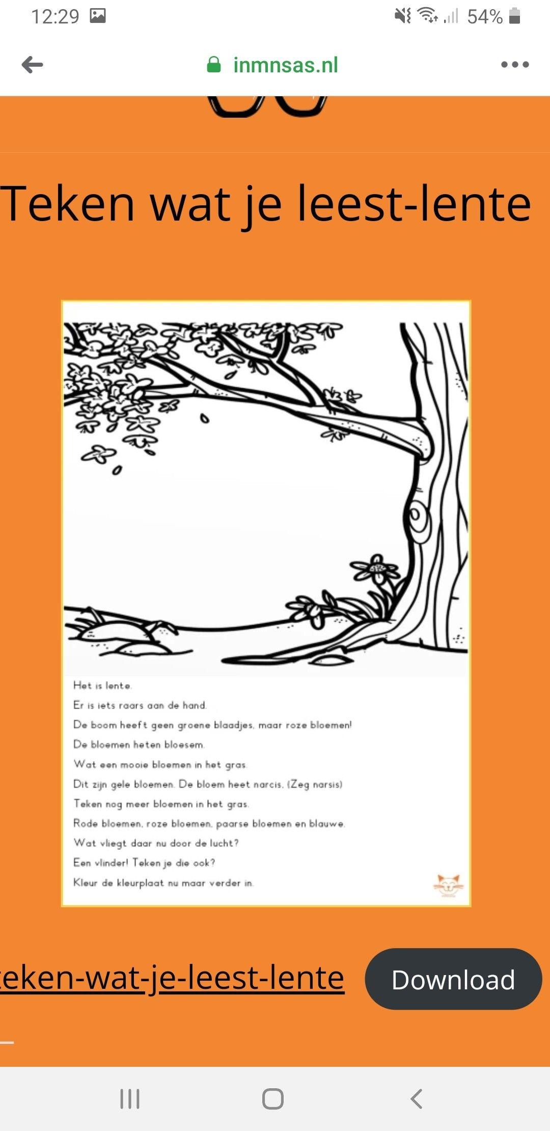 Pin Van Anouk Mensink Op Groep 3 Taal Lezen Spelling Gele Bloemen Mooie Bloemen