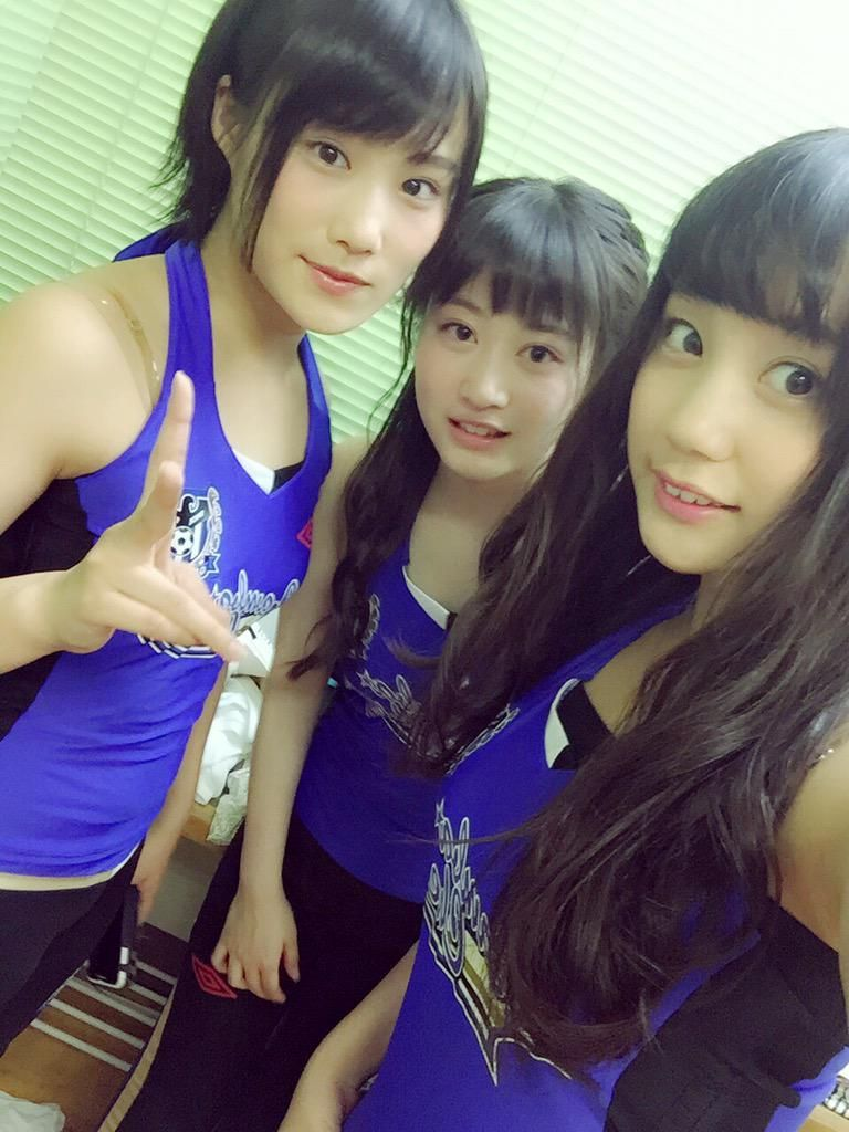 Eriko Jo x Chihiro Kawakami x Shu Yabushita  https://twitter.com/Shu__1202/status/612206519010988032