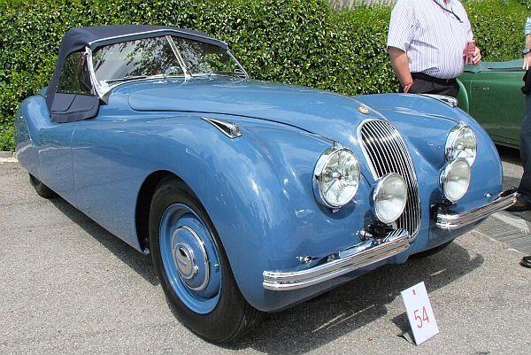 Jaguar XK120 Roadster, 1950