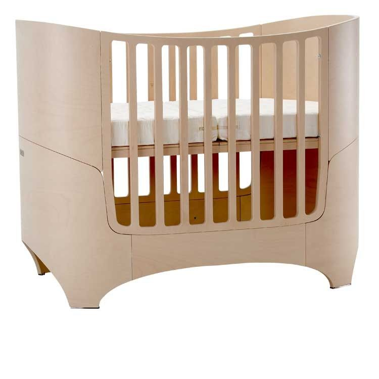 Leander Bed (Cot) In Whitewash   Baby Furniture From MetroMum.com.au