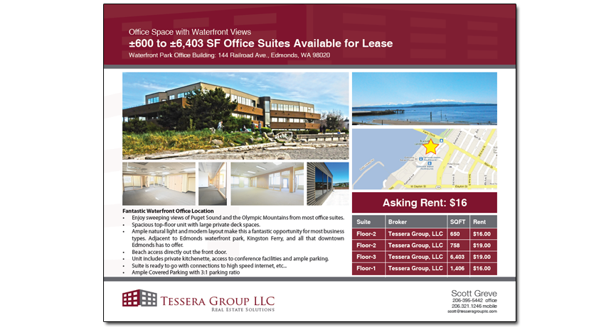 commercial real estate brochure template - the google map is a most on listing flyers real estate