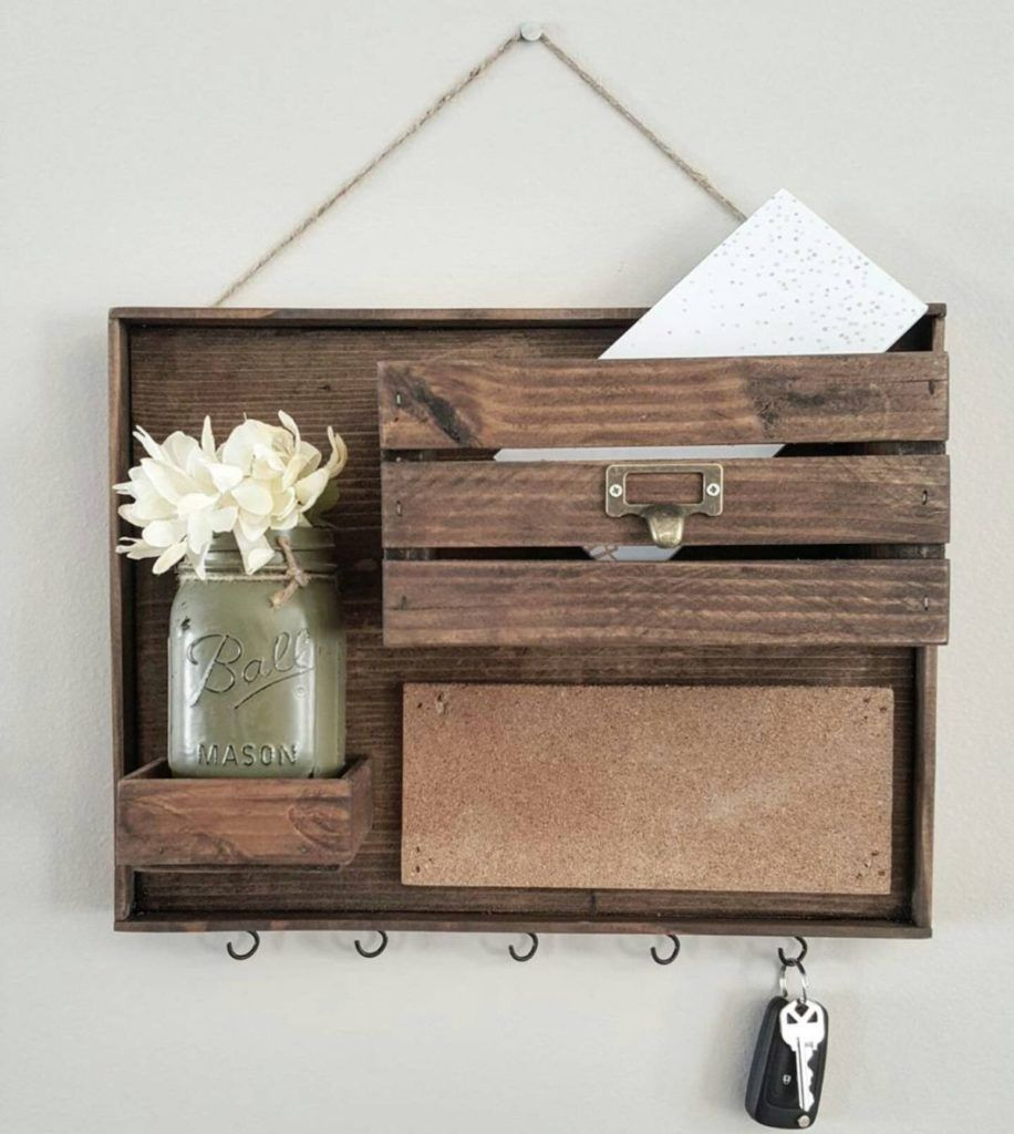 Chic And Simple Mail Organizers For The Diyer In Each Of Us Diy