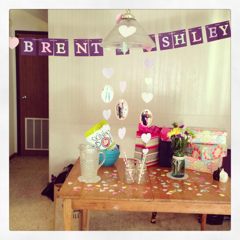 Low-key Bachelorette Party Decor