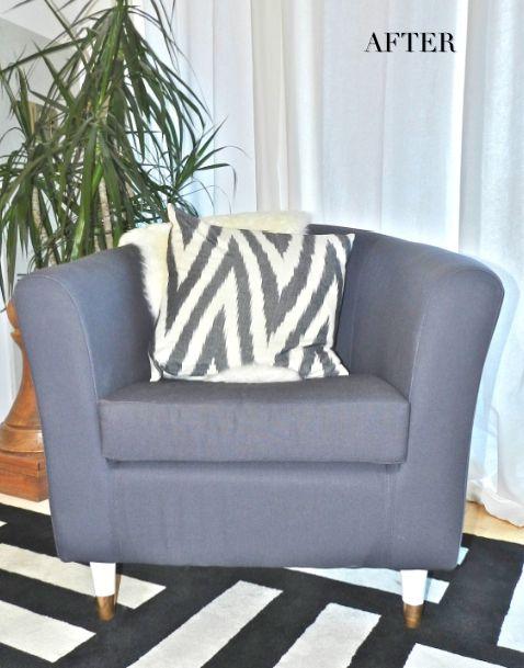 Swell Jcaroline S Home Ikea Tullsta Tub Chair Cover In Nautical Ncnpc Chair Design For Home Ncnpcorg