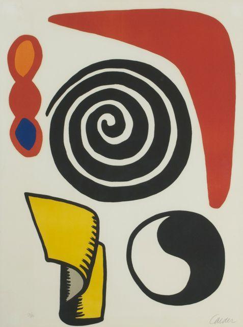 Lot 99 Alexander Calder 1898 1976 La Matraque Rouge 1965
