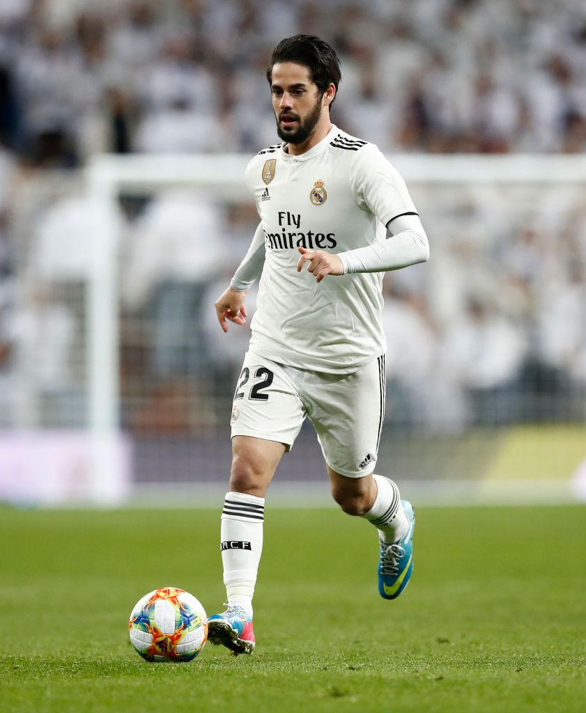 549c9c15cf6 Isco Alarcon of Real Madrid in action during the Copa del Rey ...