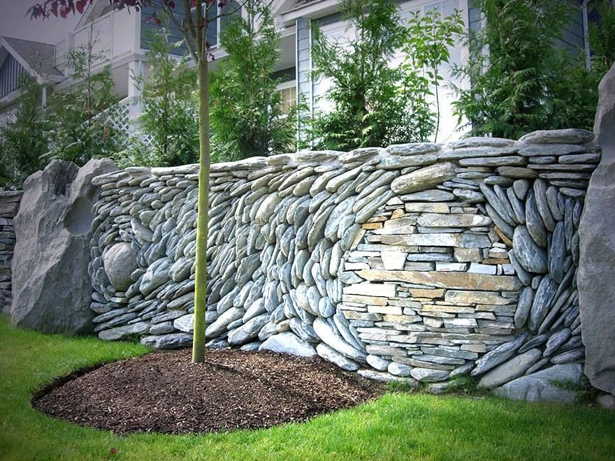 Amazing Places The Ancient Art Of Stone Rock Wall Art Installations Rock Wall Gardens Stone Wall Art Landscape Design