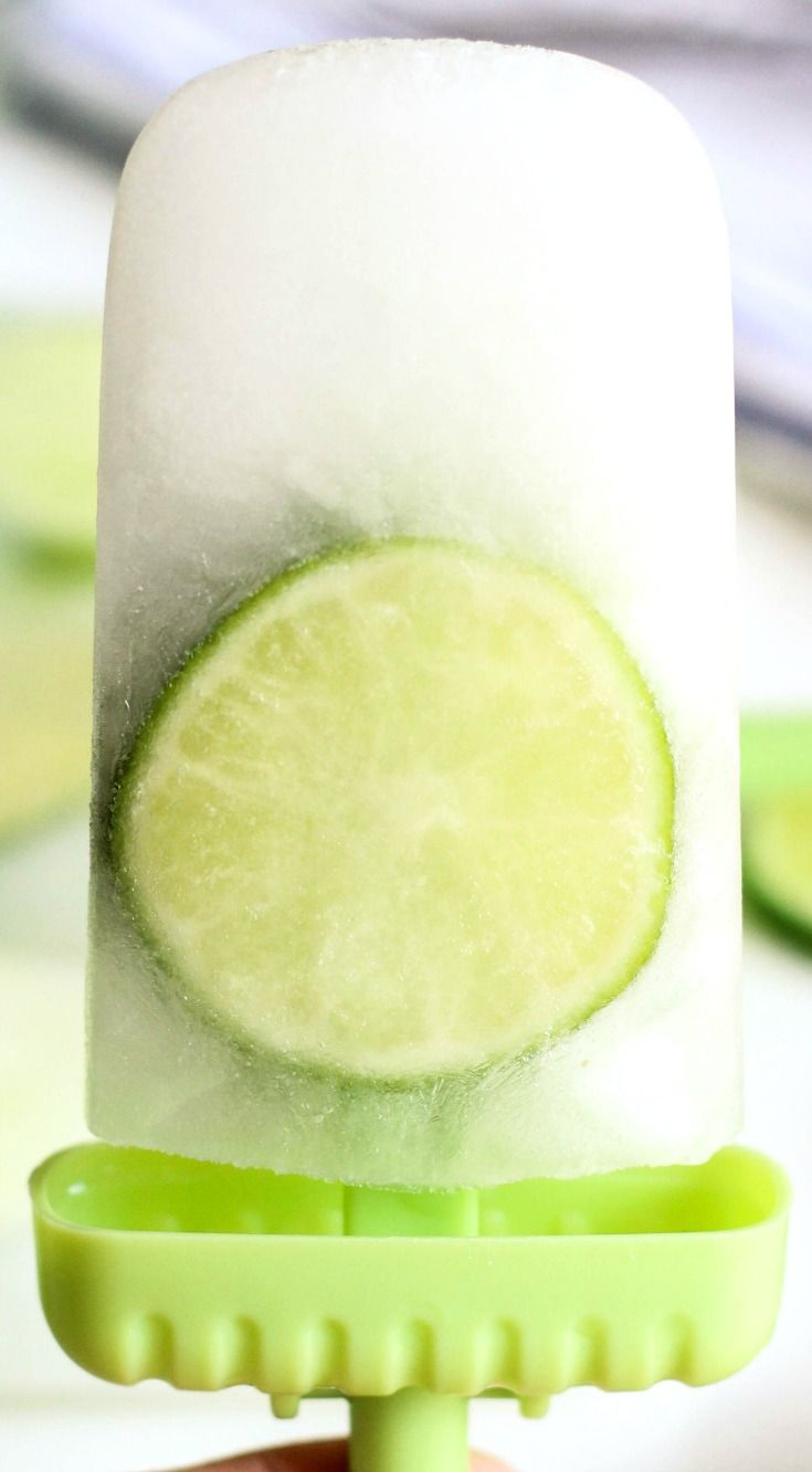 Refreshingly Simple Limeade Popsicles ~ SO simple to make... Oh so good and most definitely kid-approved.