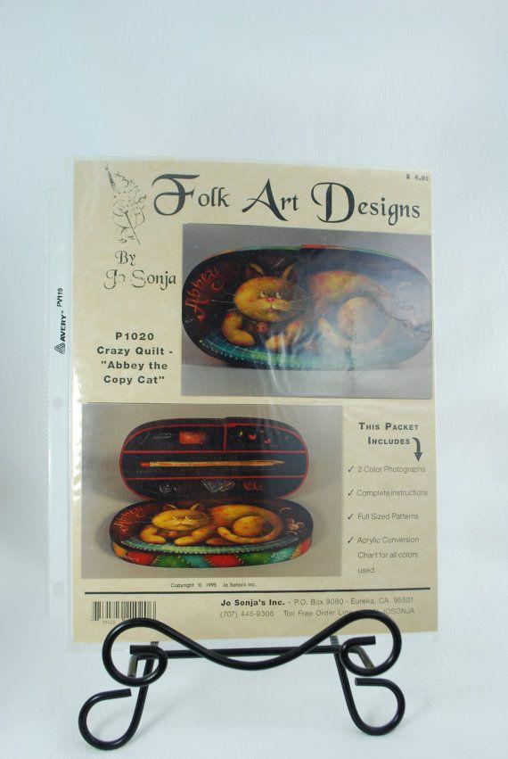 Folk Art Designs By Jo Sonja P1020 Crazy Quilt Abbey The Copy