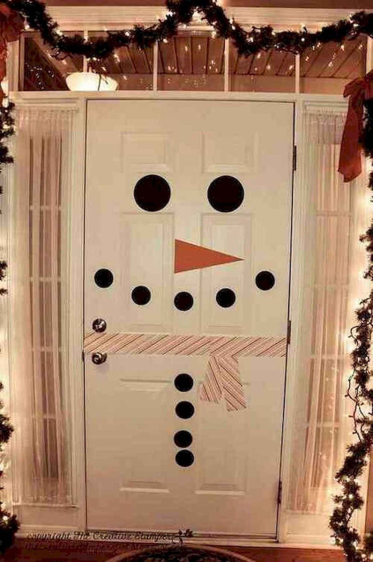 40 Simple DIY Christmas Door Decorations For Home And School #christmasdoordecorationsforschool 40 Simple DIY Christmas Door Decorations For Home And School christmas #40 #simple #diy #christmas #door #decorations #for #home #and #school #christmasdoordecorationsforschool