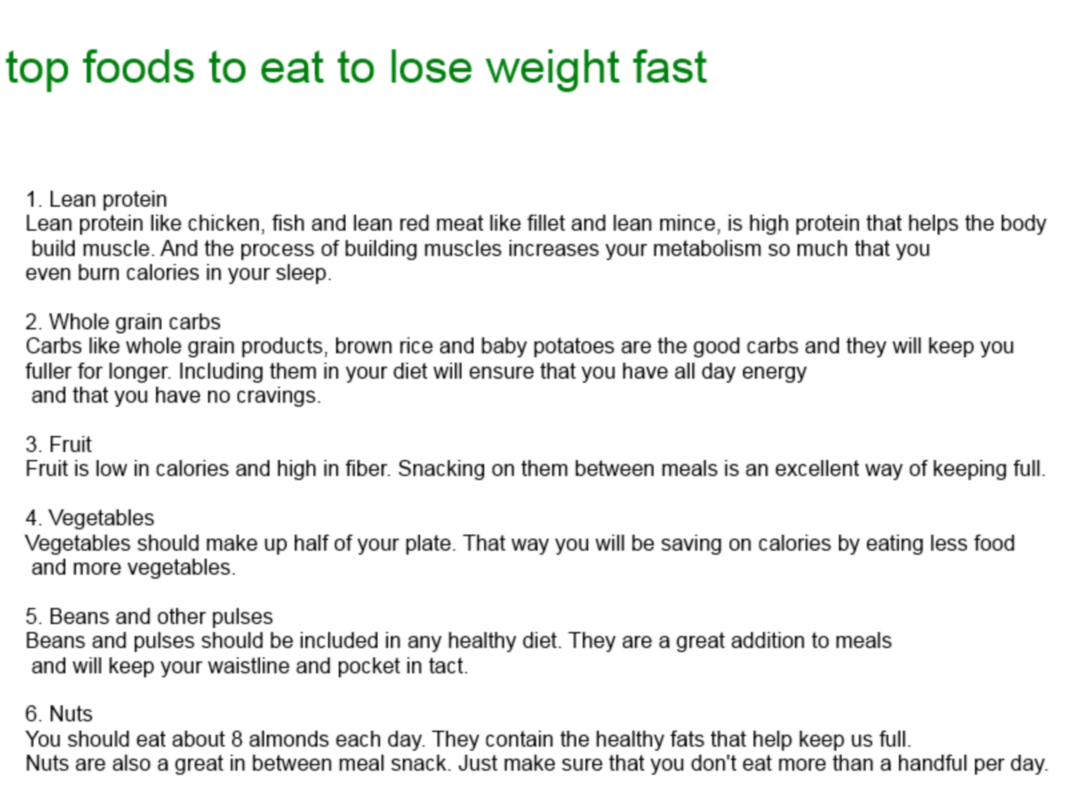 Easy diet to follow and lose weight fast photo 4