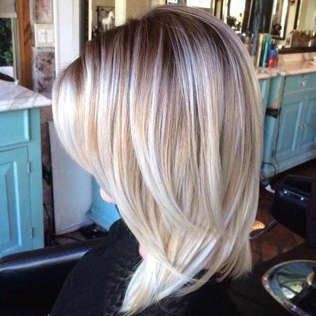 12 Trendy Mittellange Frisuren Womit Du In 2015 Gerne Gesehen Wirst Seite 4 Von 12 Neue Frisur Halflange Kapsels Kapsels Mode Kapsels