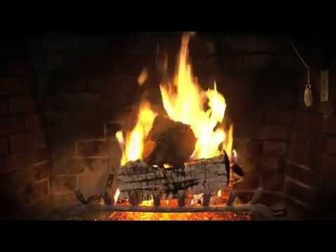 FAV - Yuletide Log Video Beautiful Wood-burning Fireplace ...