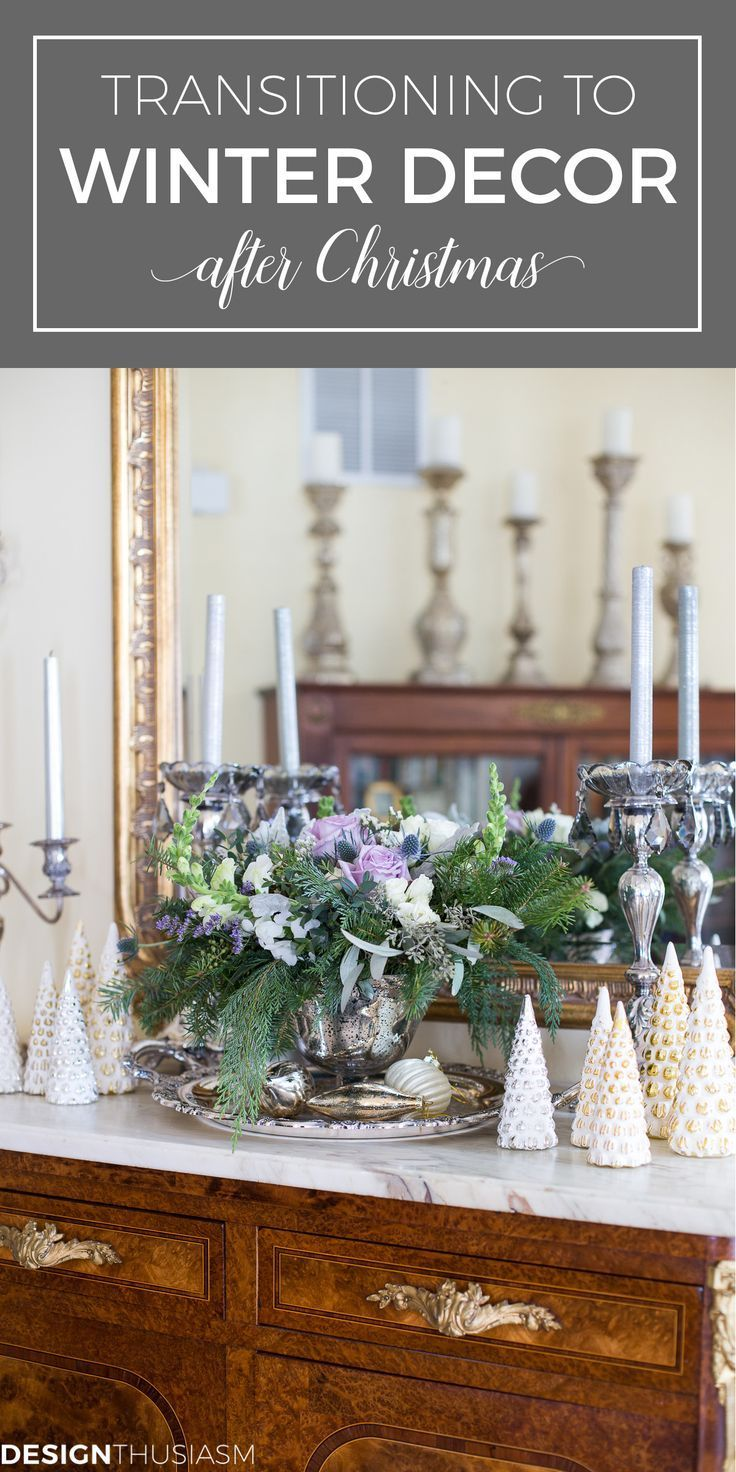 Tips for Transitioning to Winter Decor After Christmas