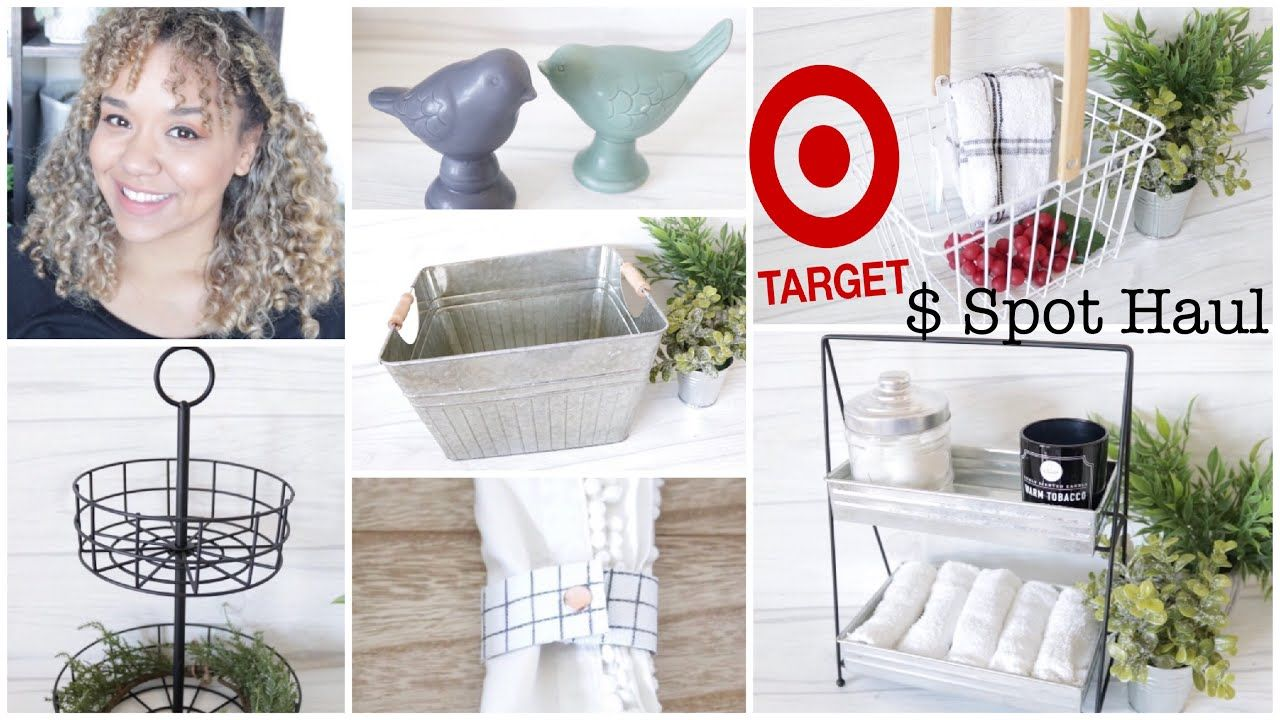 Target Dollar Spot Haul 2019 New Farmhouse Two Tiered