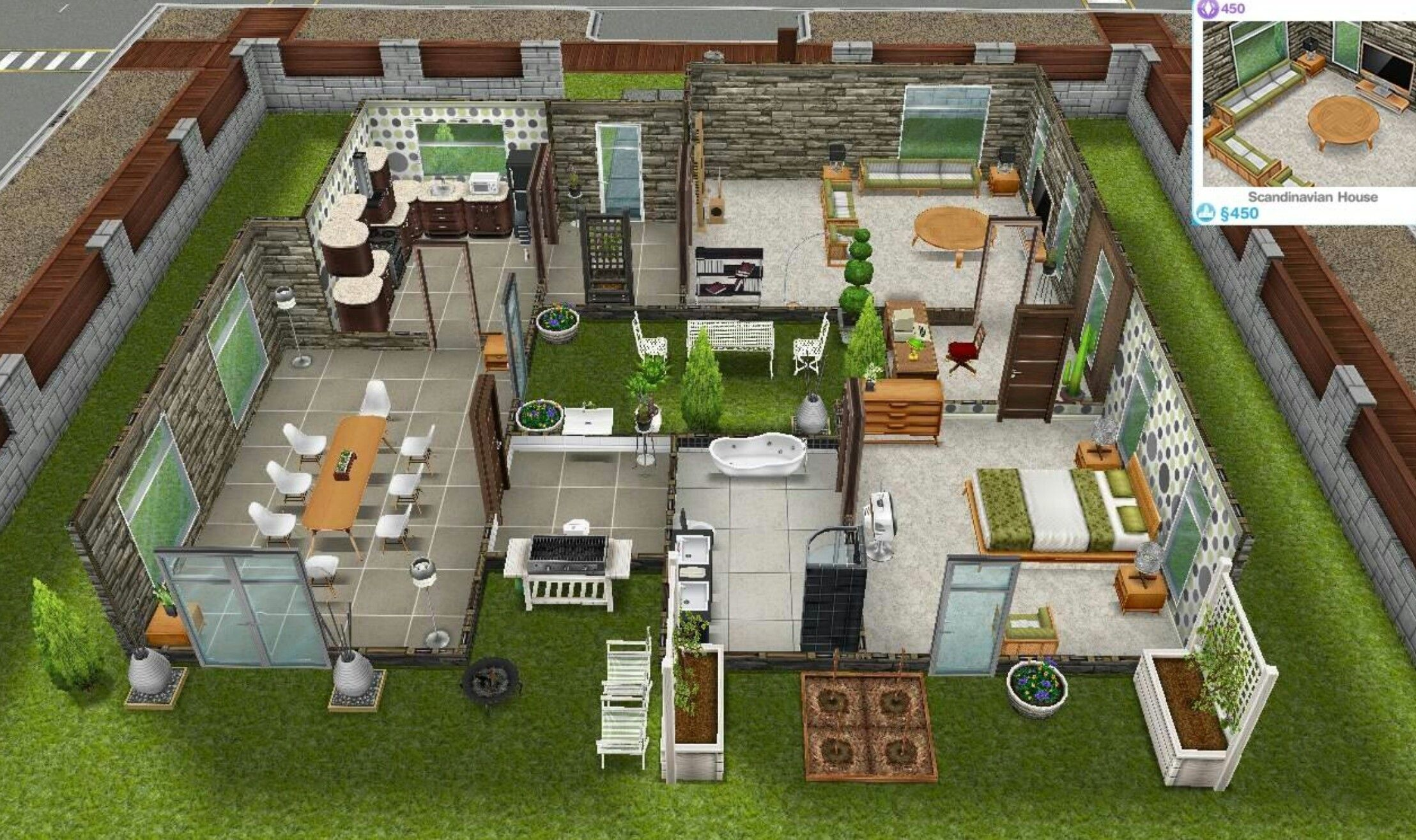 Pin by Anna Harder on Homes   Sims house, Sims freeplay houses ...