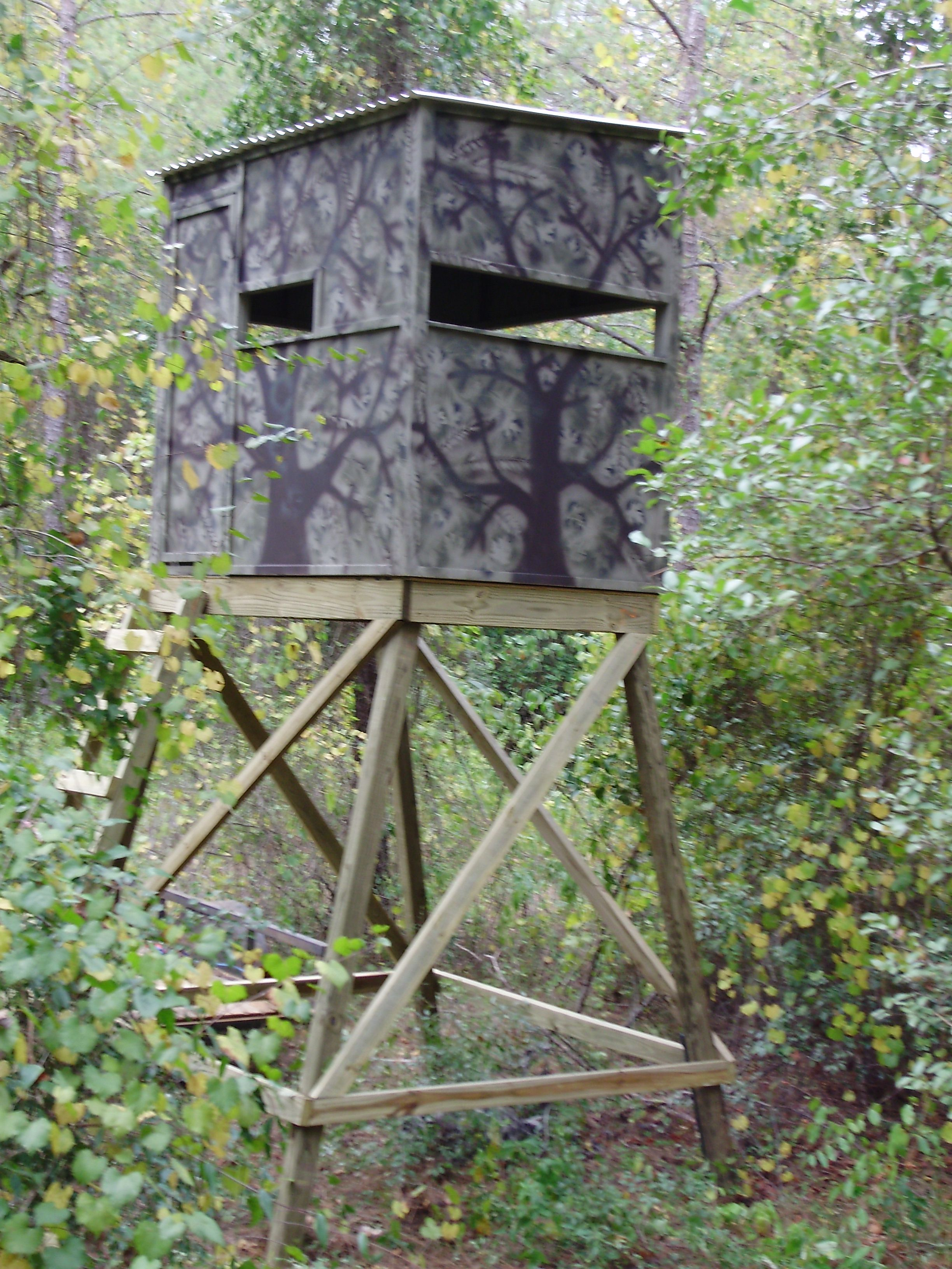 Wood deer stands plans free download wistful29gsg for Free tree stand
