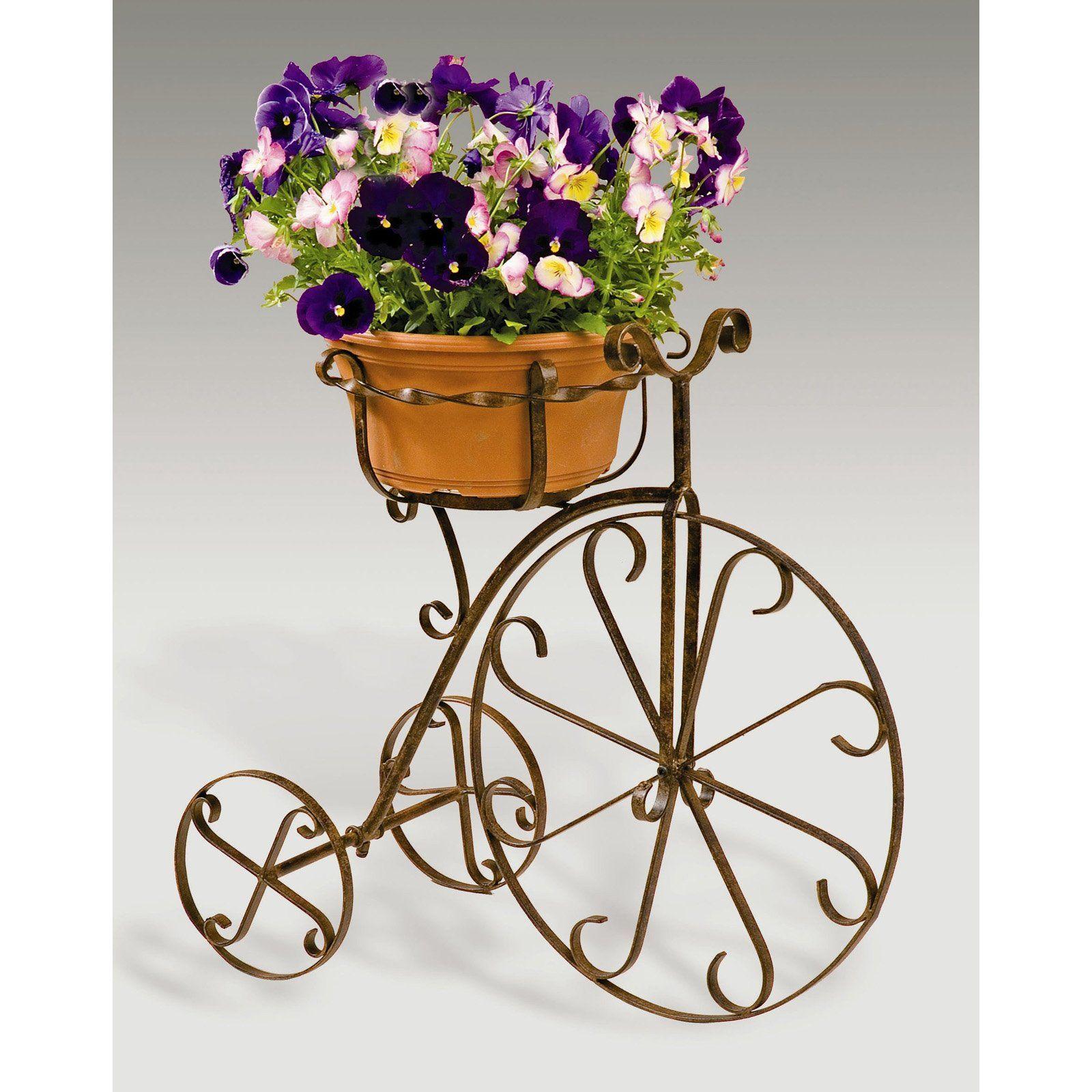 Deer Park Ironworks Fancy Bike Planter Great Garden Tips