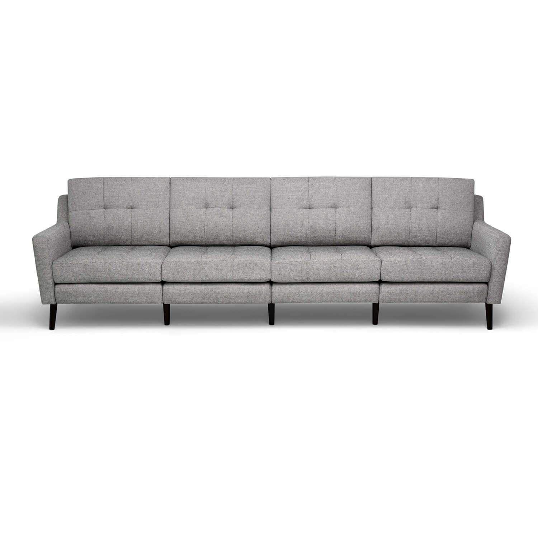 Terrific Burrow King Sofa Crushed Gravel Low Arms In 2019 Machost Co Dining Chair Design Ideas Machostcouk
