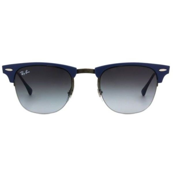 b2dadda3e9 ... coupon code for ray ban lite ray clubmaster rb8056 unisex sunglasses  210 liked on polyvore ead15