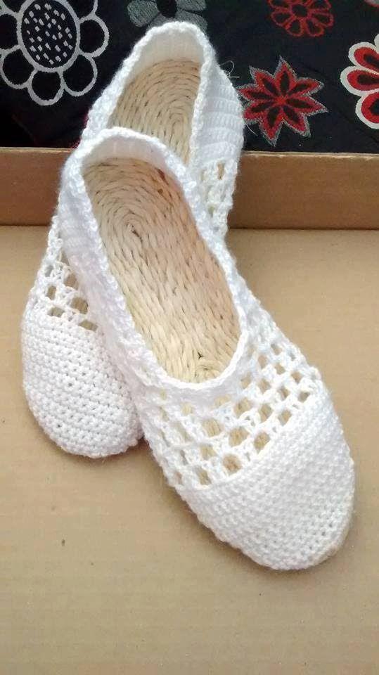Zapato Blanco Suela Fique (Parte 1) | Patikler | Pinterest | Zapatos ...