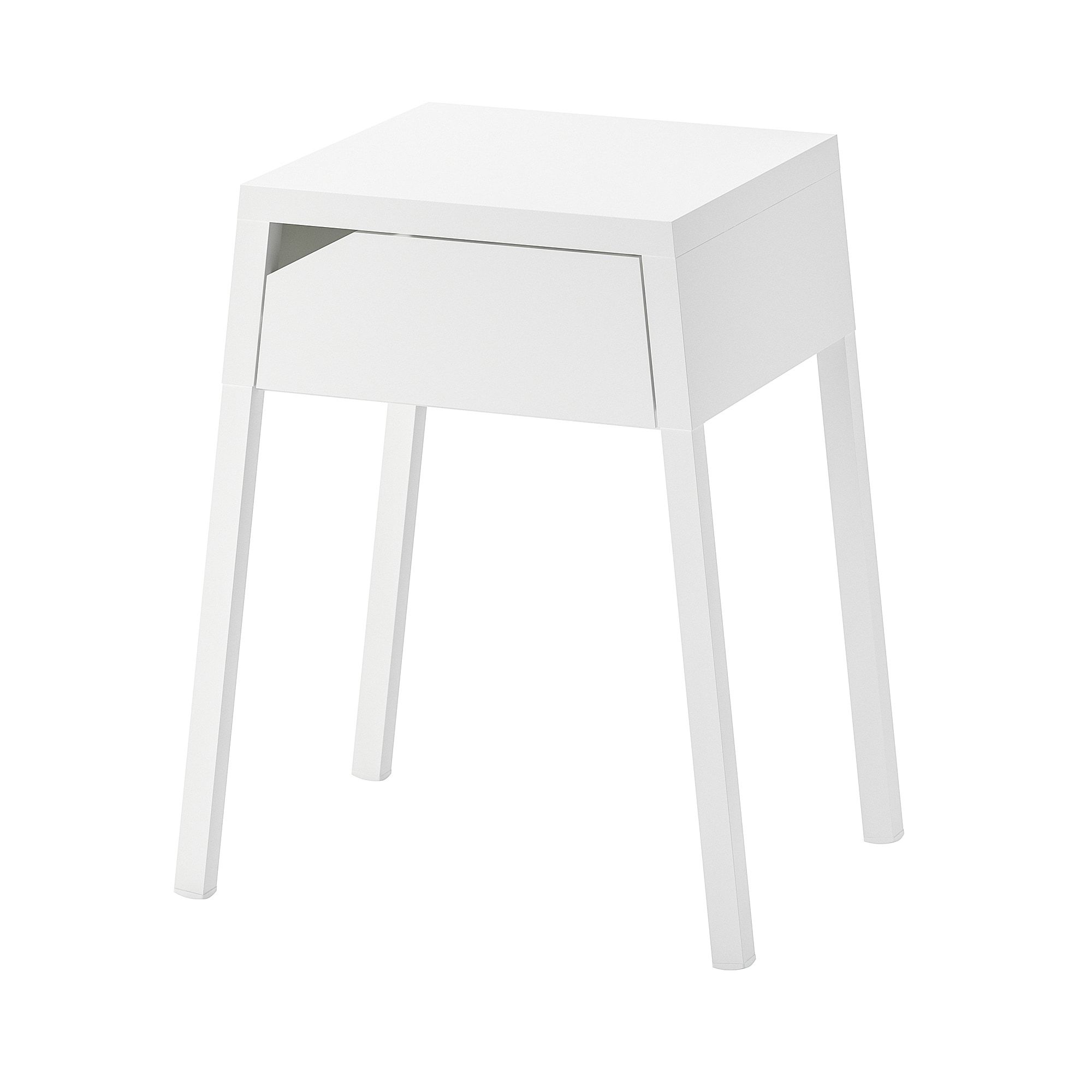 Ikea Us Furniture And Home Furnishings Selje White Bedside Table Ikea