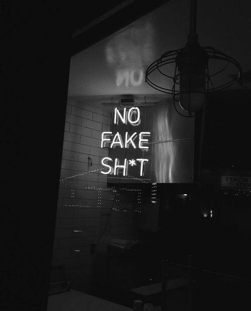No Fake Shit Black And White Photo Wall Black And White Picture Wall Black And White Aesthetic